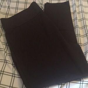 Nygard Slims Brown Leggings Size 2x